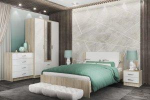 Спальня ЛДСП 002-1 - Мебельная фабрика «МИКС»