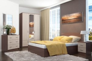 Спальня ЛДСП 006 - Мебельная фабрика «МИКС»