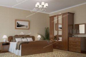 Спальня ЛДСП 2 - Мебельная фабрика «Контур»