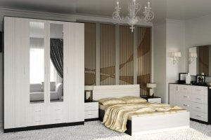 Спальня ЛДСП - Мебельная фабрика «Рестайл»