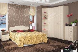 Спальня ЛДСП 3 - Мебельная фабрика «Контур»