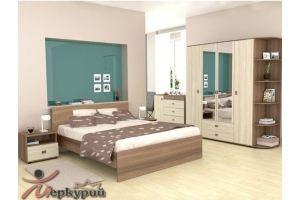 Спальня ЛДСП Джуди - Мебельная фабрика «Меркурий»