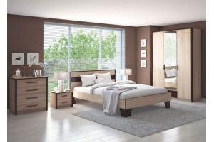 Спальня ЛДСП Эшли - Мебельная фабрика «Балтика мебель»