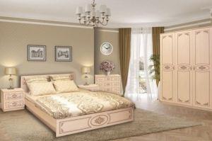 Спальня ЛДСП фотопечать Классика - Мебельная фабрика «Балтика мебель»