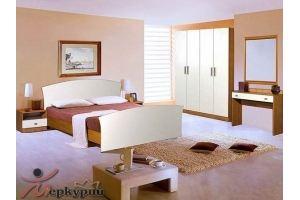 Спальня ЛДСП Грейс 1 - Мебельная фабрика «Меркурий»