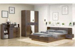 Спальня ЛДСП Куба - Мебельная фабрика «Bravo Мебель»