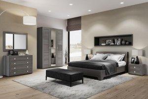 Спальня ЛДСП Парма Нео 1 - Мебельная фабрика «Кураж»