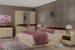 Спальня ЛДСП светлая 12 - Мебельная фабрика «Фаворит»