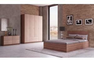 Спальня ЛДСП Тоскана 6 - Мебельная фабрика «IRIS»