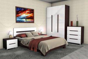 Спальня Леонардо - Мебельная фабрика «Средневолжская мебельная фабрика»