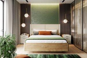 Спальня со шкафом-купе Livorno - Мебельная фабрика «Сильва»