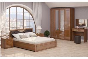 Спальня Лондон компоновка 1 - Мебельная фабрика «Ижмебель»