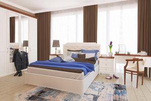 Спальня Маргарет в английском стиле - Мебельная фабрика «Лазурит»