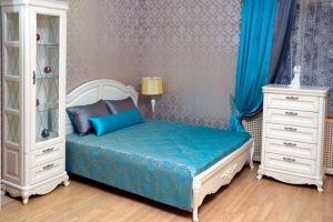 Спальня массив Лугано - Мебельная фабрика «Кухни Альфа»