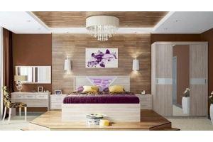 Спальня МДФ Бриз 1 - Мебельная фабрика «МИГ»