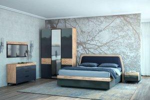 Спальня МДФ Дели - Мебельная фабрика «Яна»