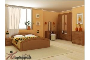 Спальня МДФ Экстаза - Мебельная фабрика «Меркурий»