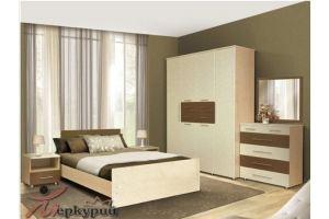 Спальня МДФ Ирга 1 - Мебельная фабрика «Меркурий»