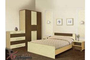 Спальня МДФ Ирга 2 - Мебельная фабрика «Меркурий»