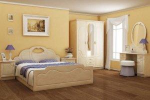 Спальня МДФ ТХТ Гармония - Мебельная фабрика «Мебельный стиль»