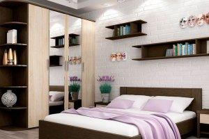 Спальня МДФ Вента - Мебельная фабрика «Эльба-Мебель»