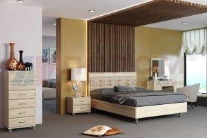Спальня Мелисса 2021-1 - Мебельная фабрика «Лером»