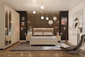 Спальня Мелисса 2021-2 - Мебельная фабрика «Лером»