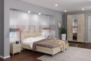 Спальня Мелисса 2021-4 - Мебельная фабрика «Лером»