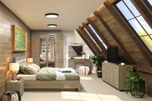 Спальня Мелисса 2021-7 - Мебельная фабрика «Лером»