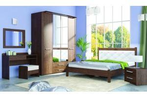 Спальня МК 44 цвет старый дуб - Мебельная фабрика «Корвет»