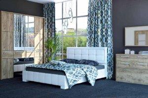 Спальня МК 52-1 - Мебельная фабрика «Корвет»