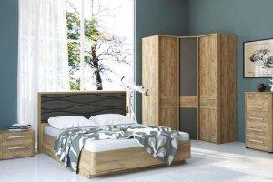 Спальня МК 52-3 - Мебельная фабрика «Корвет»