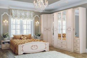 Спальня модульная Королла - Мебельная фабрика «Новосибирская Мебель»