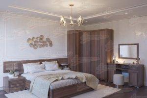 Спальня модульная МДФ Клеопатра 2 - Мебельная фабрика «Мебельный стиль»