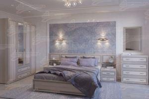 Спальня модульная МДФ Клеопатра - Мебельная фабрика «Мебельный стиль»