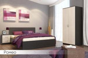 Спальня модульная Ромео - Мебельная фабрика «Мебель Даром»