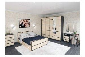 Спальня модульная Сорренто - Мебельная фабрика «Вик»