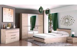 Спальня модульная Тиана - Мебельная фабрика «Bravo Мебель»