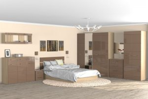 Спальня модульная Венеция - Мебельная фабрика «Эко»