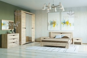 Спальня модульная Версаль 5 - Мебельная фабрика «Росток-мебель»