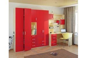 Спальня молодежная - Мебельная фабрика «Люкс-С»