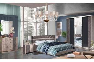 Спальня Монако  КМК 0673 - Мебельная фабрика «Калинковичский мебельный комбинат»
