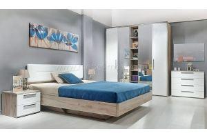 Спальня Napoli дуб Крафт - Мебельная фабрика «Мебель-Москва»