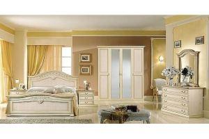 Спальня Неола бежевая - Мебельная фабрика «Манго»