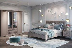Спальня Онтарио 3 - Мебельная фабрика «Ангстрем»