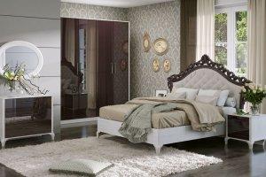 Спальня Opera Шоколад - Мебельная фабрика «Шатура»