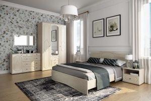 Спальня Оскар Роял Вуд Кофе - Мебельная фабрика «Эстель»