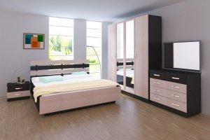 Спальня Пиксель - Мебельная фабрика «Кубань-мебель»