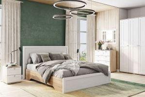 Спальня Ривьера белая - Мебельная фабрика «Ваша мебель»