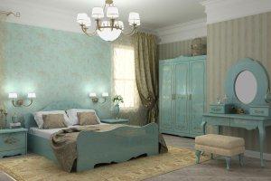 Спальня Рококо 1 - Мебельная фабрика «ALDO»